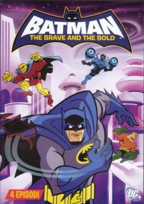 BATMAN THE BRAVE AND THE BOLD 4 DVD