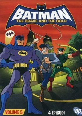 BATMAN THE BRAVE AND THE BOLD 5 DVD