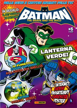BATMAN THE BRAVE AND THE BOLD MAGAZINE 5 + SET DA SCRITTURA