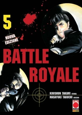 BATTLE ROYALE 5 RISTAMPA