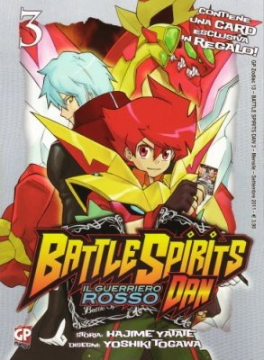 BATTLE SPIRITS DAN 3 + CARD ESCLUSIVA IN REGALO!