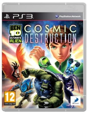 BEN 10 ULTIMATE ALIEN COSMIC DESTRUCTION PS3 USATO GARANTITO