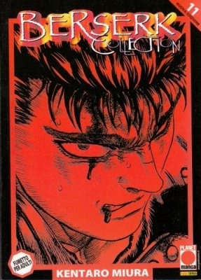 BERSERK COLLECTION 11 SERIE NERA QUARTA RISTAMPA