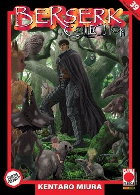 BERSERK COLLECTION 39 SERIE NERA RISTAMPA