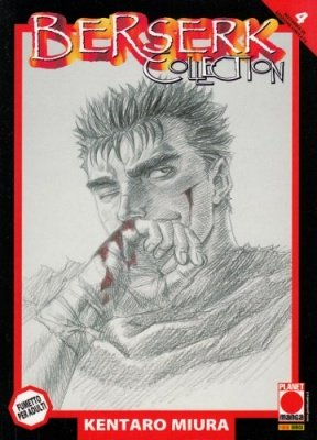 BERSERK COLLECTION 4 SERIE NERA QUINTA RISTAMPA