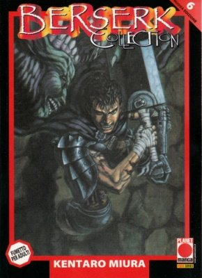 BERSERK COLLECTION 6 SERIE NERA QUARTA RISTAMPA
