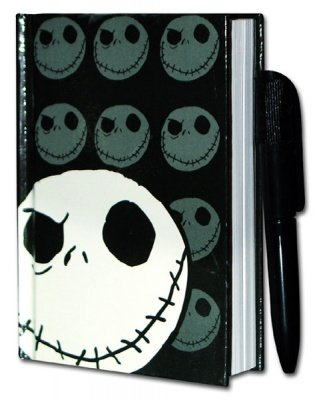 BLOCK NOTES CON PENNA JACK NIGHTMARE BEFORE CHRISTMAS