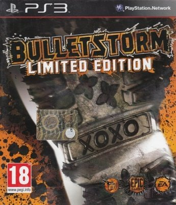 BULLETSTORM LIMITED EDITION PS3 USATO GARANTITO