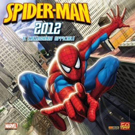 CALENDARIO SPIDER-MAN 2012 FRIENDS FOREVER