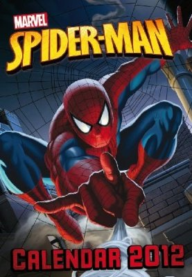 CALENDARIO SPIDER-MAN CLASSIC 2012