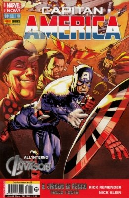 CAPITAN AMERICA 55 CAPITAN AMERICA 19 ALL NEW-MARVEL NOW!