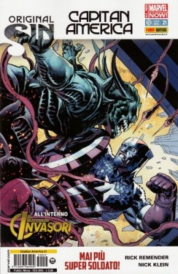 CAPITAN AMERICA 57 CAPITAN AMERICA 21 ALL NEW-MARVEL NOW!