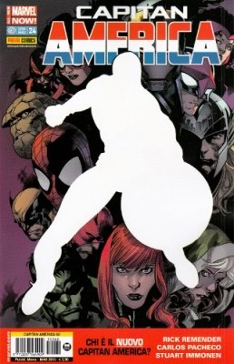CAPITAN AMERICA 60 CAPITAN AMERICA 24 ALL NEW-MARVEL NOW!