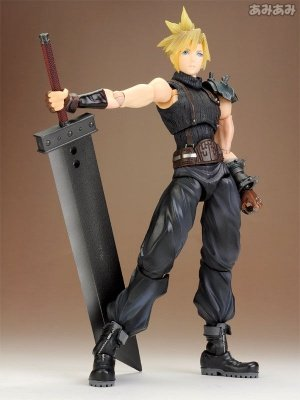 CLOUD STRIFE - DISSIDIA FINAL FANTASY PLAY ARTS KAI VOL. 1 ACTION FIGURE