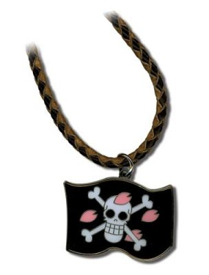 COLLANA CON CIONDOLO CHOPPER FLAG ONE PIECE