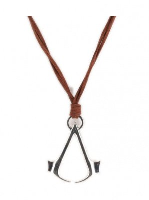 COLLANA CON CIONDOLO LOGO ASSASSIN'S CREED III