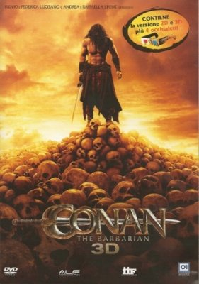 CONAN THE BARBARIAN 3D (DVD + DVD 3D + OCCHIALI)