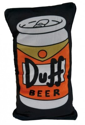 CUSCINO DUFF BEER SIMPSONS REVERSIBILE