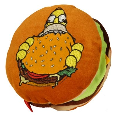 CUSCINO HAMBURGER SIMPSONS