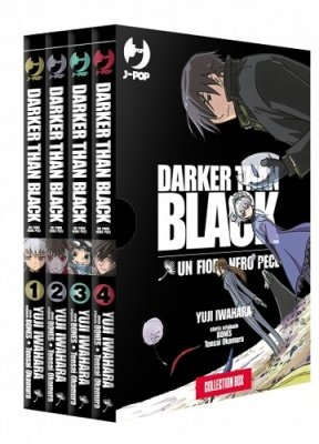 DARKER THAN BLACK - UN FIORE NERO PECE BOX