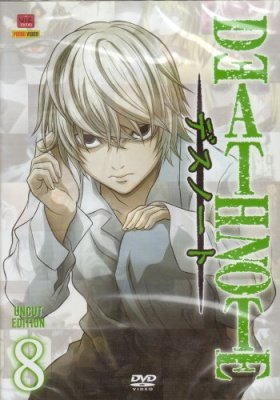 DEATH NOTE 8  - DVD