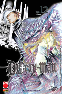 DGRAY-MAN 12 RISTAMPA