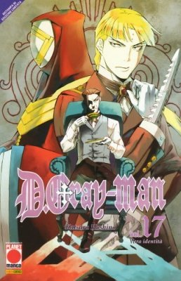 DGRAY-MAN 17 RISTAMPA