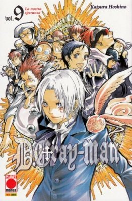DGRAY-MAN 9 SECONDA RISTAMPA