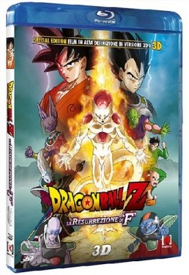 "DRAGON BALL Z LA RESURREZIONE DI ""F"" BLU-RAY"