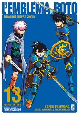 DRAGON QUEST SAGA - L'EMBLEMA DI ROTO PERFECT EDITION 13