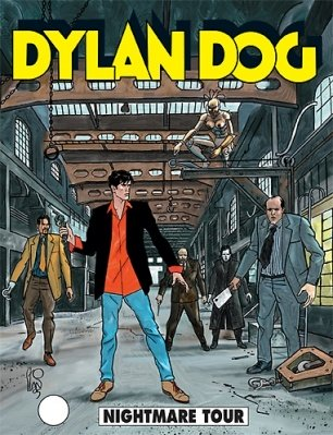DYLAN DOG COLLEZIONE BOOK 231 - NIGHTMARE TOUR