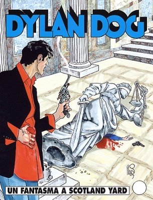 DYLAN DOG COLLEZIONE BOOK 232 - UN FANTASMA A SCOTLAND YARD
