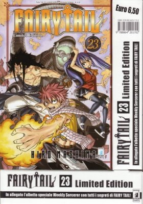 FAIRY TAIL 23 LIMITED EDITION CON ALBETTO SPECIALE