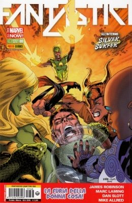 FANTASTICI QUATTRO 368 - FANTASTICI QUATTRO 8 ALL-NEW MARVEL NOW!