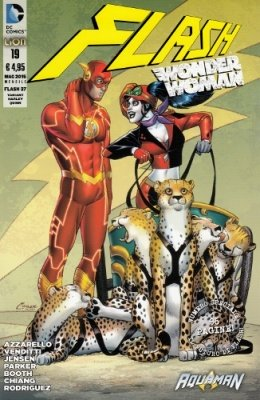 FLASH/WONDER WOMAN N. 19 VARIANT HARLEY QUINN