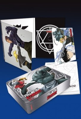 FULLMETAL ALCHEMIST LIMITED METAL BOX 2 - 3 DVD
