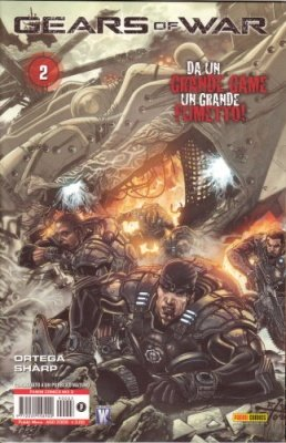 GEARS OF WAR 2 - PANINI COMICS MIX 3