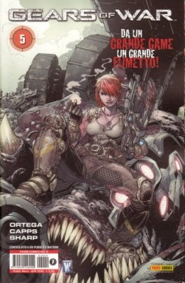 GEARS OF WAR 5 - PANINI COMICS MIX 9