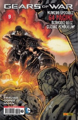 GEARS OF WAR 9 - PANINI COMICS MIX 37