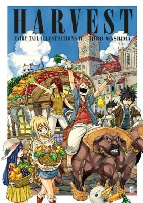 HARVEST – FAIRY TAIL ILLUSTRATIONS II