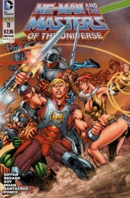 HE-MAN AND THE MASTERS OF THE UNIVERSE 11