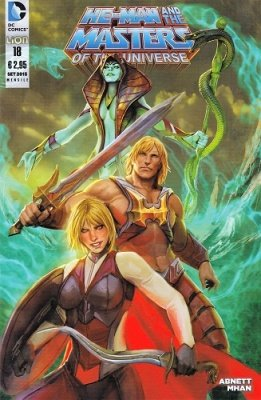 HE-MAN AND THE MASTERS OF THE UNIVERSE 18