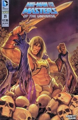 HE-MAN AND THE MASTERS OF THE UNIVERSE 21