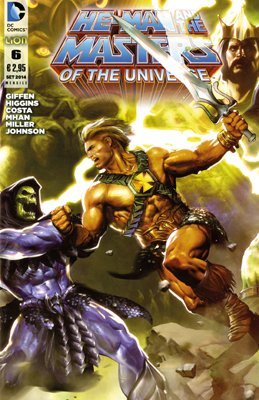 HE-MAN AND THE MASTERS OF THE UNIVERSE 6