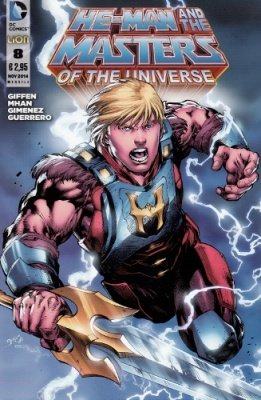 HE-MAN AND THE MASTERS OF THE UNIVERSE 8