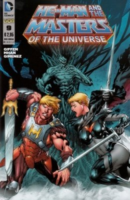 HE-MAN AND THE MASTERS OF THE UNIVERSE 9
