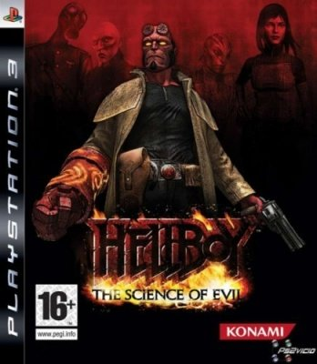 HELLBOY THE SCIENCE OF EVIL PS3 NUOVO