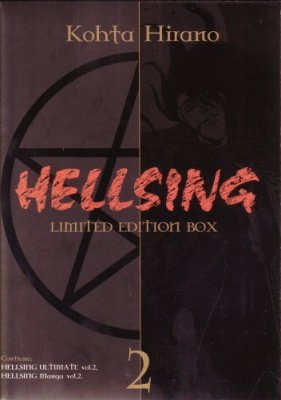 HELLSING LIMITED EDITION OAV BOX 2 - DVD+MANGA