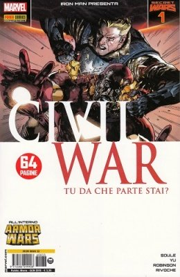 IRON MAN & NEW AVENGERS 33 - IRON MAN PRESENTA CIVIL WAR 1