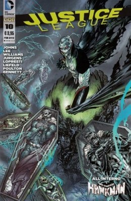 JUSTICE LEAGUE N. 10